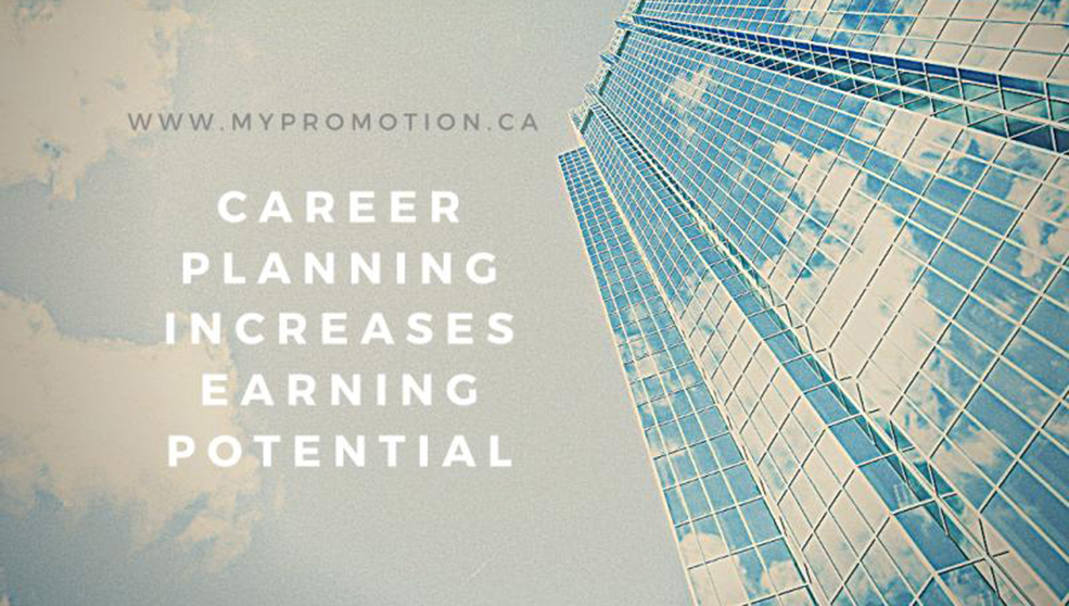 Career planning increases earning potential